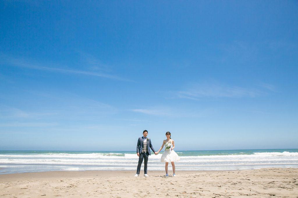 Seaside Photo Wedding~蒼い海と空とおふたりで撮影しませんか?~