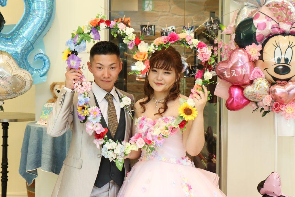 サプライズあふれる結婚式