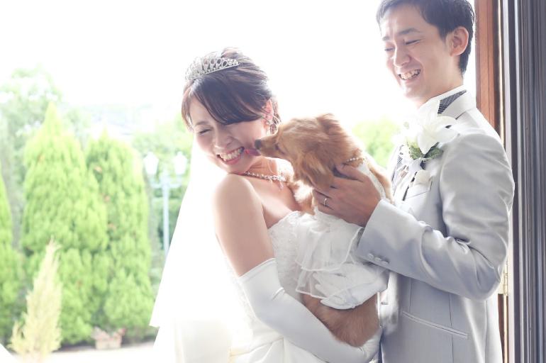 【ガーデン・ウエディングプラン】ペットと一緒の結婚式も可能!